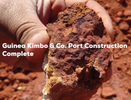 Guinea Kimbo & Co. Port Construction Complete